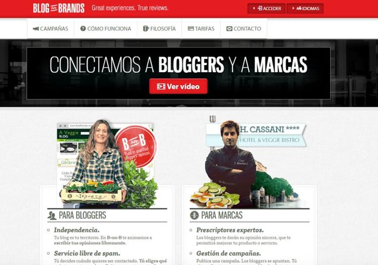 Blog on Brands, plataforma de bloggers y marcas