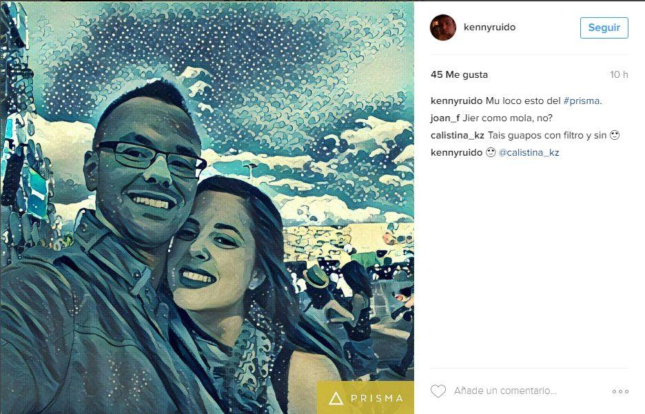 KennyRuiz prisma app para instagram