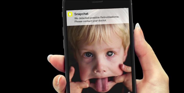 Un filtro de Snapchat que detecta el cáncer de ojos