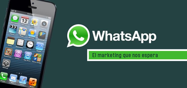 Así llegarán las marcas a Whatsapp