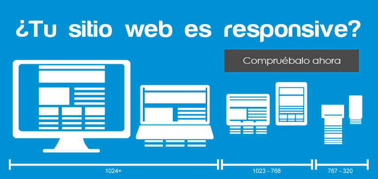 ¿Tu sitio es una web responsive?